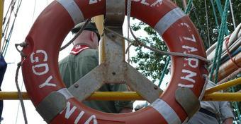 "50 lat ""Zawiszy Czarnego"" podczas Culture 2011 Tall Ships Regatta"
