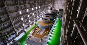 W Holandii powstał jeden z największych jachtów świata