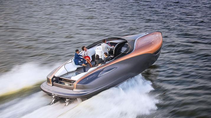 Nie tylko Bugatti. Jachty budują też Mercedes, Lexus i Aston-Martin! [ZDJĘCIA]